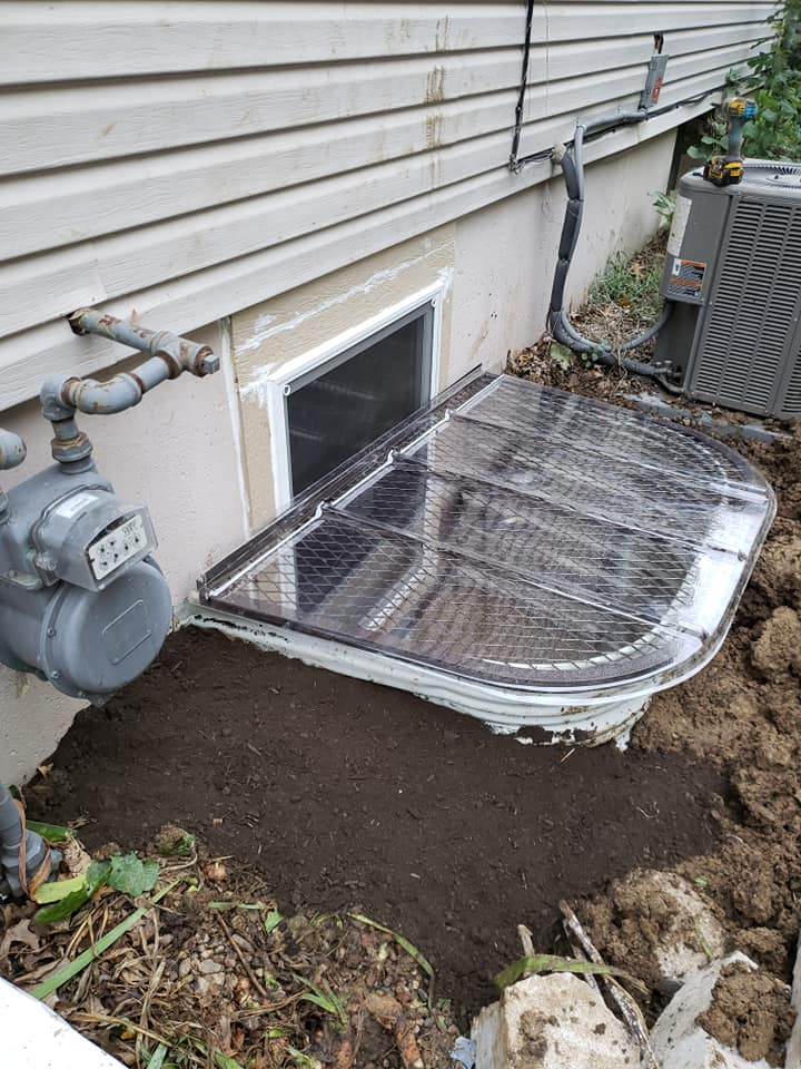 Exterior Egress Window