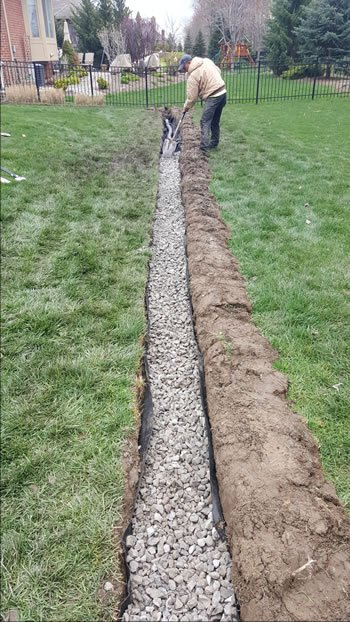 Drainage Service French Drain Water Control Smart