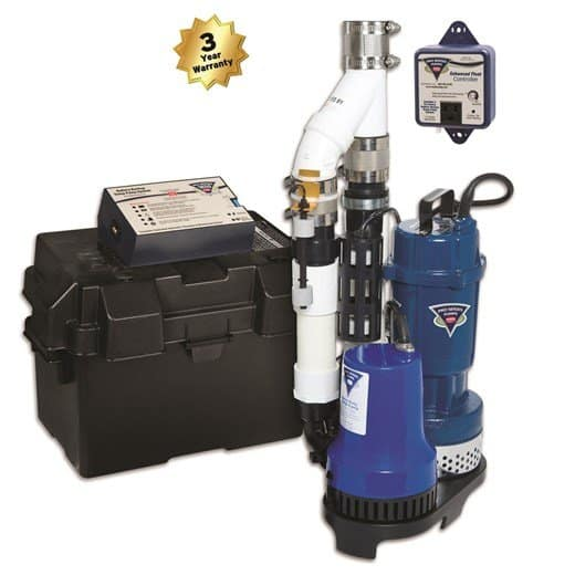 Picture of one of the sump pumps that Smart Foundation Repair and Basement Waterproofing installs in Kansas City